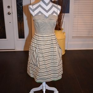 Maeve Striped Dress from Anthropologie